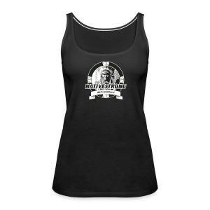 ss_nstrong2_back Tanks - Women's Premium Tank Top