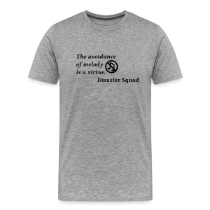 The Avoidance of Melody - Men's Premium T-Shirt