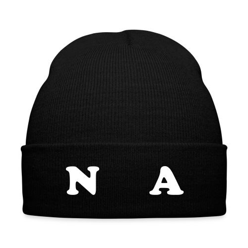 Nerdz Army Small Cuffed Beanie - Knit Cap with Cuff Print