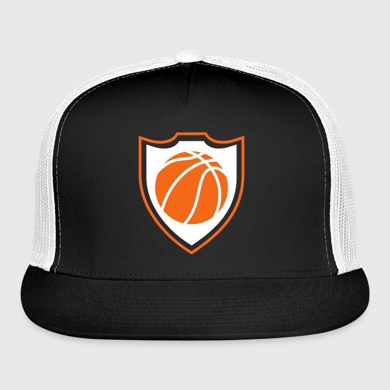 Basketball shield Caps - Trucker Cap