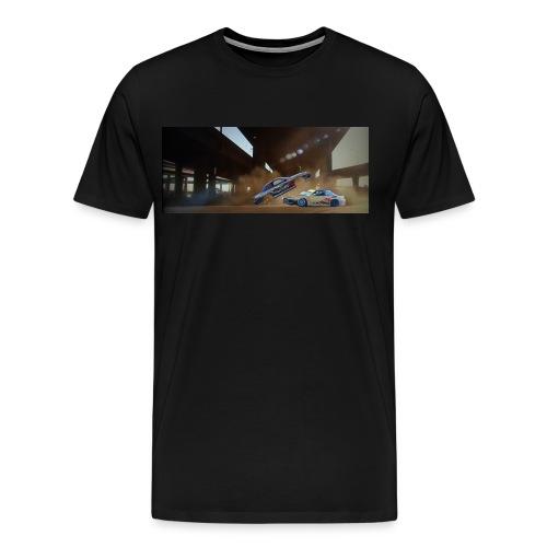 Simba + Possemato Gymkhana  - Men's Premium T-Shirt