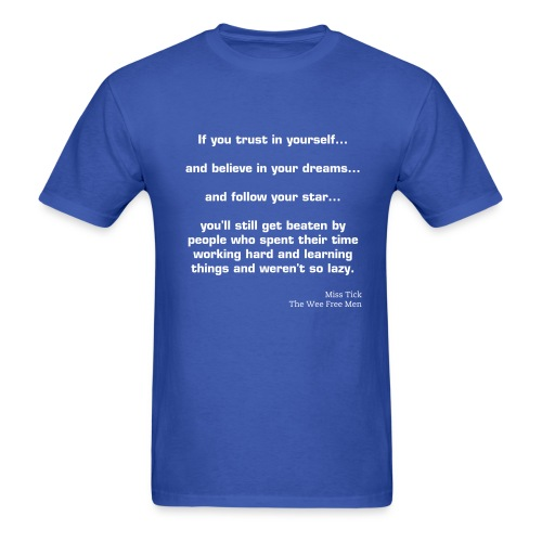 If you trust in yourself - Men's T-Shirt