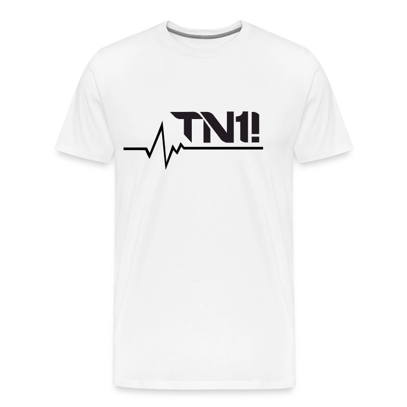 TN1! - Men's Heartbeat T-Shirt  - Men's Premium T-Shirt