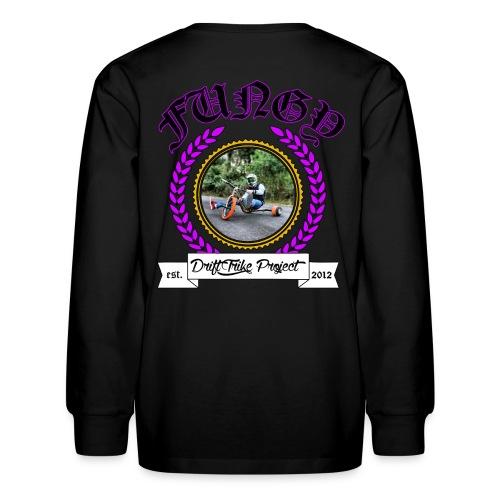 Kids purple Fungy long sleeve T - Kids' Long Sleeve T-Shirt