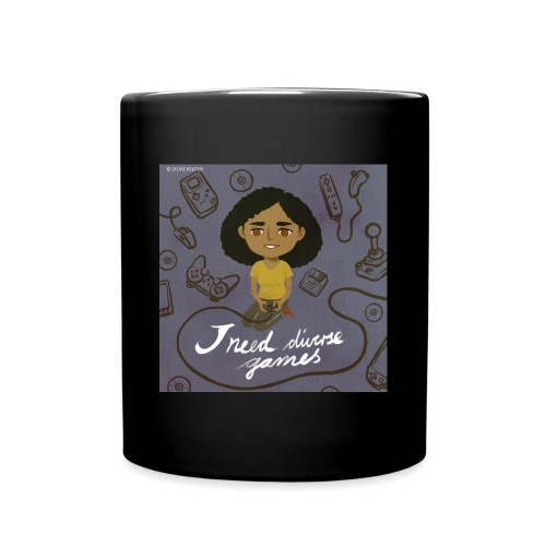 INDG Mug w/Logo art & Hashtag - Full Color Mug