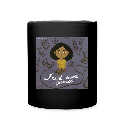 INDG Mug w/Logo art & Hashtag - Full Color Mug