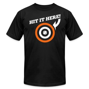Hit it Here! (Baltimore) - Men's T-Shirt by American Apparel