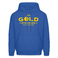 Hoodies ~ Men's Hoodie ~ The Gold Standard Hooded Sweatshirt