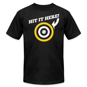 Hit it Here! (Pittsburgh) - Men's T-Shirt by American Apparel