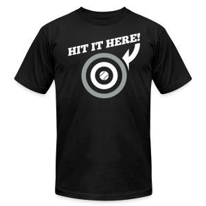 Hit it Here! (Chicago) - Men's Fine Jersey T-Shirt