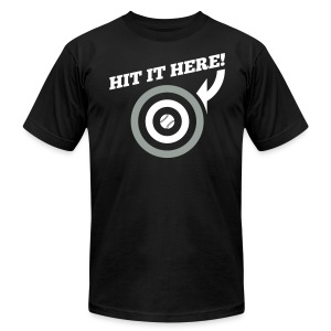 Hit it Here! (Chicago) - Men's T-Shirt by American Apparel