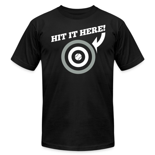 Hit it Here! (Chicago) - Men's  Jersey T-Shirt