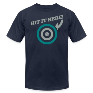 Hit it Here! (Seattle) - Men's T-Shirt by American Apparel