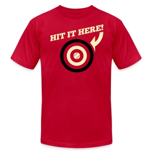 Hit it Here! (Arizona) - Men's T-Shirt by American Apparel