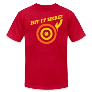 Hit it Here! (San Diego) - Men's T-Shirt by American Apparel