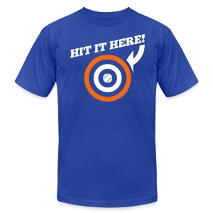 Hit it Here! (New York) - Men's Fine Jersey T-Shirt