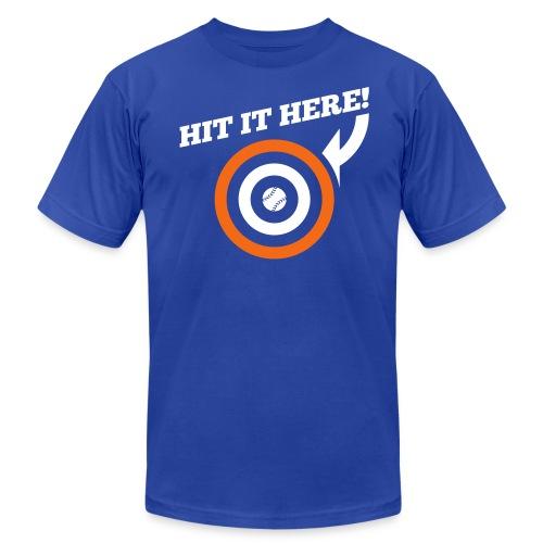 Hit it Here! (New York) - Men's Fine Jersey T-Shirt