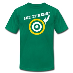 Hit it Here! (Oakland) - Men's T-Shirt by American Apparel