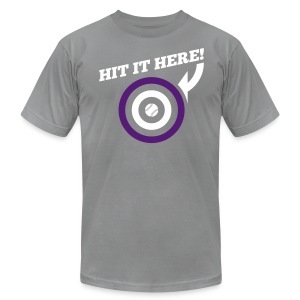 Hit it Here! (Colorado) - Men's T-Shirt by American Apparel