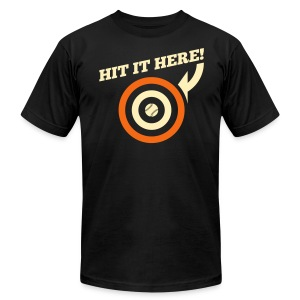 Hit it Here! (San Francisco) - Men's T-Shirt by American Apparel