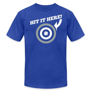 Hit it Here! (Los Angeles) - Men's T-Shirt by American Apparel