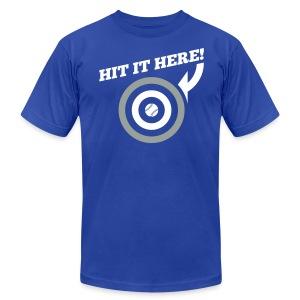 Hit it Here! (Los Angeles) - Men's Fine Jersey T-Shirt