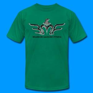 MEN'S BMF BLACK CHROME - TSHIRT - Men's Fine Jersey T-Shirt