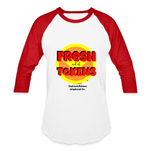 Fresh Out of Tokens Baseball Jersey - Baseball T-Shirt