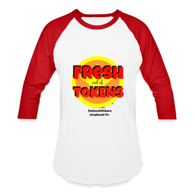 Fresh Out of Tokens Baseball Jersey