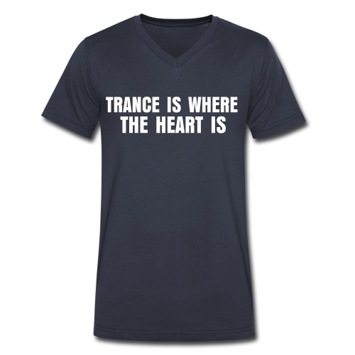 TRANCEHEART - Men's V-Neck T-Shirt by Canvas