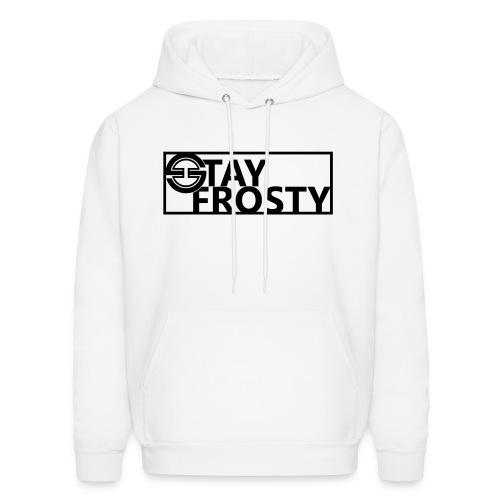 Stay Frosty Hoodie White - Men's Hoodie