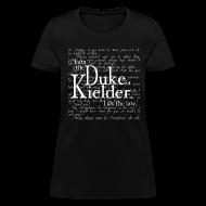T-Shirts ~ Women's T-Shirt ~ I Am The Law, dark