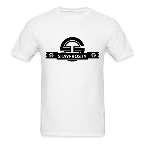 Stay Frosty Banner White - Men's T-Shirt