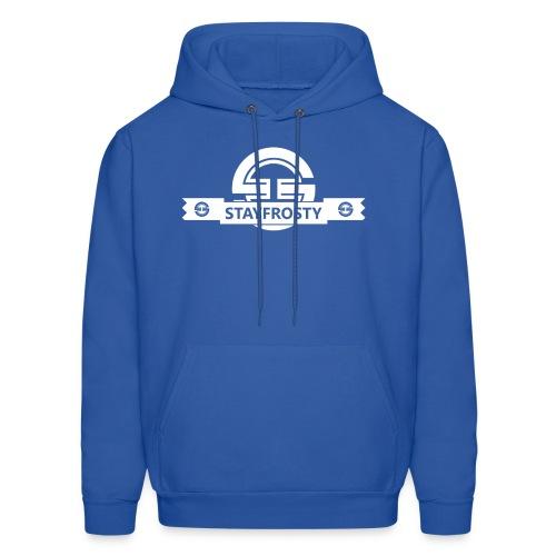 Stay Frosty Banner Blue - Men's Hoodie