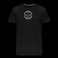 T-Shirts ~ Men's Premium T-Shirt ~ Men's Shirt (Weathered Logo)
