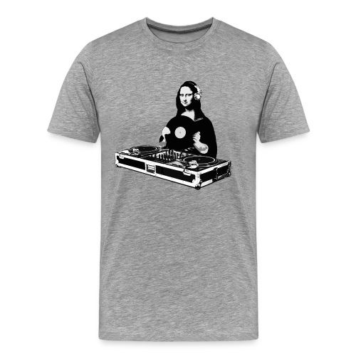DJ Mona Lisa - Men's Premium T-Shirt