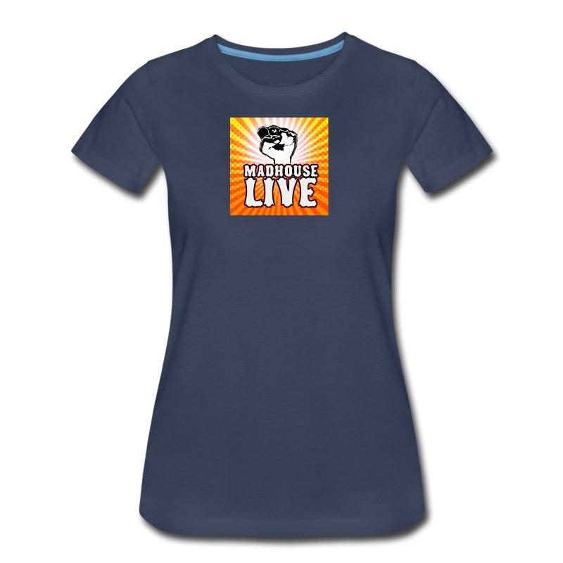 Madhouse Ladies 'Fist Burst' Shirt - Women's Premium T-Shirt