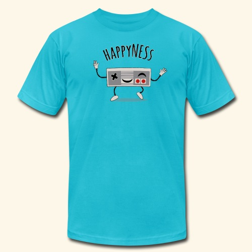 happyNESs [chibi] - Men's  Jersey T-Shirt