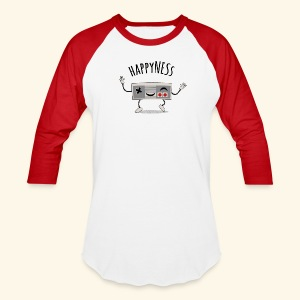 happyNESs [chibi] - Baseball T-Shirt