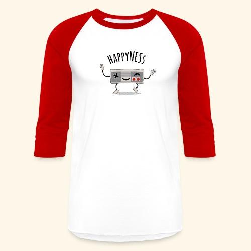 happyNESs [chibi] - Baseball T-Shirt