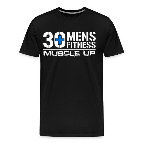 30 Plus Men's Fitness - Men's Premium T-Shirt