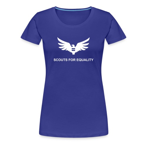 Women's Blue SFE T-Shirt - Women's Premium T-Shirt