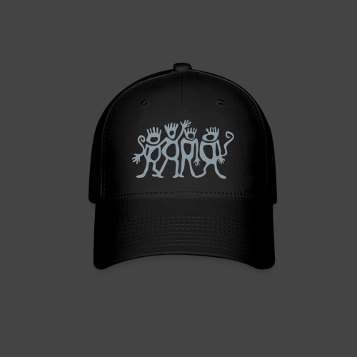 Spider Monkey Logo | Fitted Cap - Baseball Cap