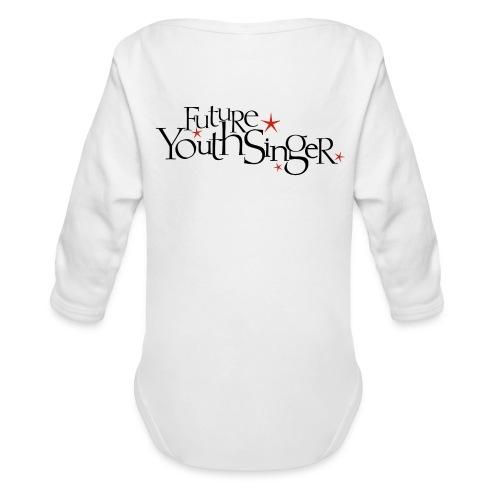 Future Youth Singer Long-Sleeved   - Organic Long Sleeve Baby Bodysuit