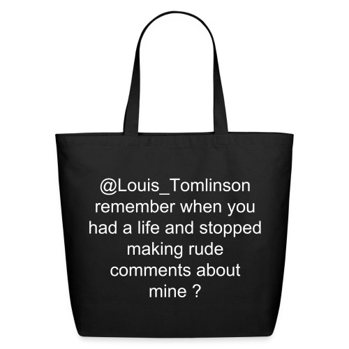 LTZM tweets tote - Eco-Friendly Cotton Tote