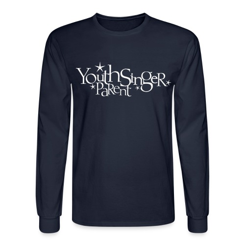 Youth Singer Parent Men's Long Sleeved Tee - Men's Long Sleeve T-Shirt