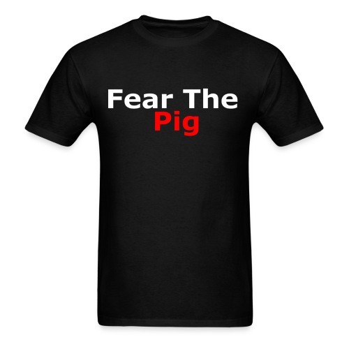 Fear the Pig Men's Premium Shirt - Men's T-Shirt