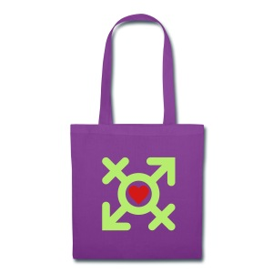 Love United Gender Symbol (2c) - Tote Bag