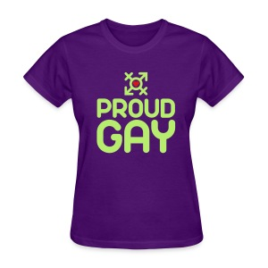 Proud Gay (2c) - Women's T-Shirt