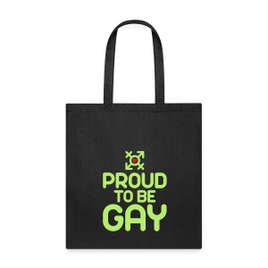 Proud to be Gay (2c) - Tote Bag